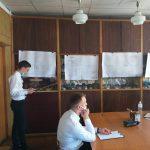 Фото 2 – Процес захисту випускної роботи ст. Самишківа А.Ю.  (керівник – д.т.н, доц. Мозговий А.О.)